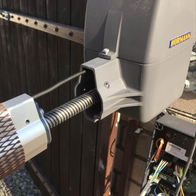 Подключение автоматики Hormann для распашных ворот